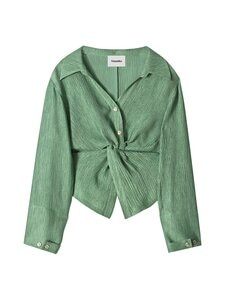 Nanushka - Idris Blouse -pusero - GREEN | Stockmann