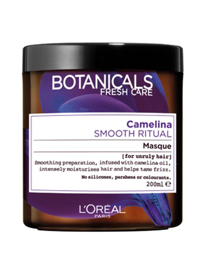 Camelina Smooth Ritual -hiusnaamio hallitsemattomille hiuksille 200 ml