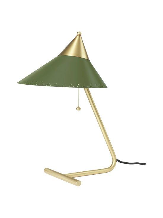 Warm Nordic - Brass Top Table Lamp -pöytävalaisin - PINE GREEN   Stockmann - photo 1