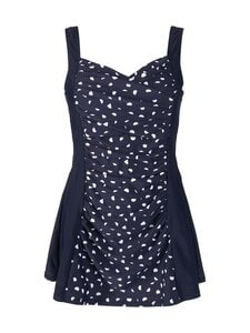 Damella - Esther Dress Swimsuit -uimapuku - 066 NAVYWHITE SPOTS | Stockmann