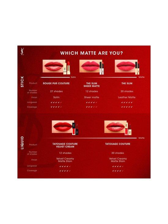 Yves Saint Laurent - Rouge Pur Couture The Slim Lipstick -huulipuna - 3 ORANGE ILLUSION | Stockmann - photo 7