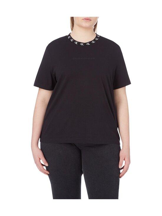 Calvin Klein Jeans Plus - CK Logo Trim SS Tee -paita - BEH CK BLACK | Stockmann - photo 2