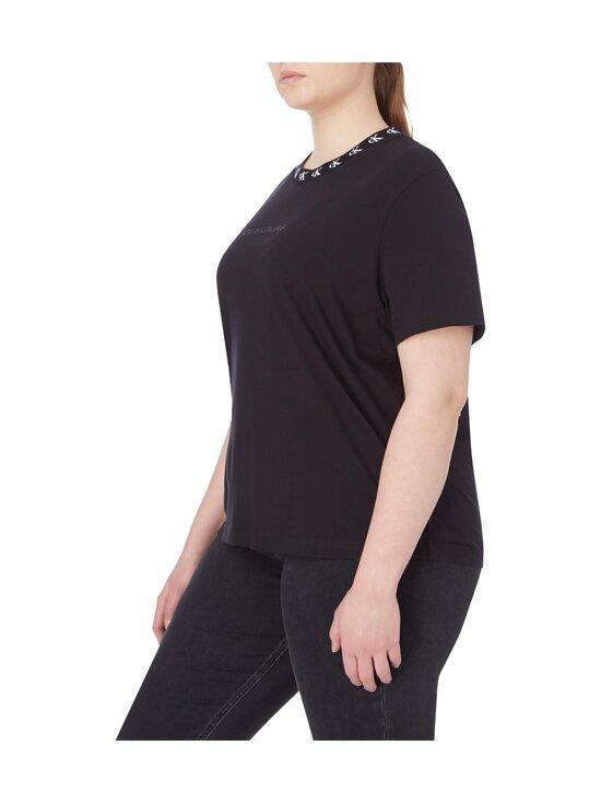 Calvin Klein Jeans Plus - CK Logo Trim SS Tee -paita - BEH CK BLACK | Stockmann - photo 4