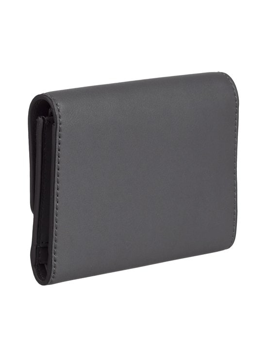 Karl Lagerfeld - K/Ikon Medium Flap Wallet -nahkalompakko - THUNDER A292 | Stockmann - photo 2