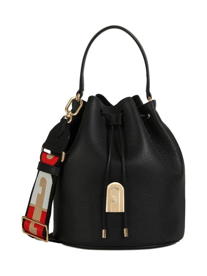 Sleek S Bucket Bag -nahkalaukku