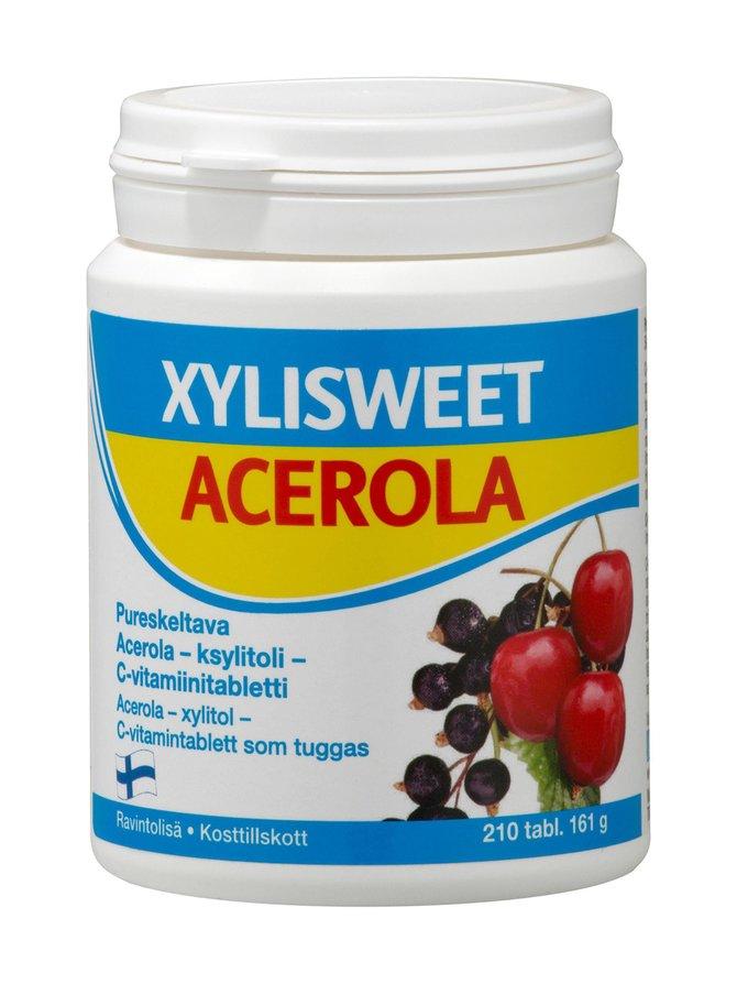 Xylisweet Acerola -C-vitamiinitabletit