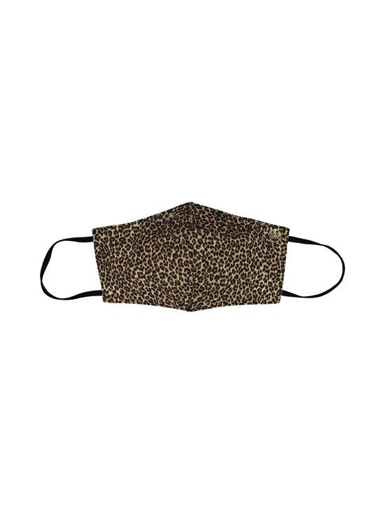 Michael Michael Kors - Face mask cheetah -kasvomaski - 211 DARK CAMEL | Stockmann - photo 1