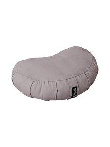 Casall - Meditation Pillow Halfmoon Shape -tyyny - 928 WARM GREY | Stockmann