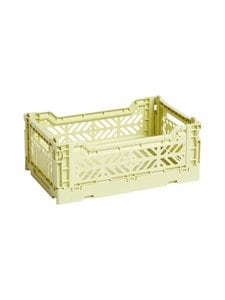 HAY - Colour Crate S -laatikko 26,5 x 17 x 10,5 cm - LIME | Stockmann