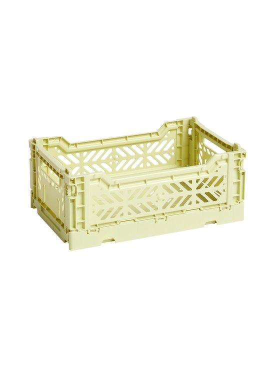 HAY - Colour Crate S -laatikko 26,5 x 17 x 10,5 cm - LIME | Stockmann - photo 1