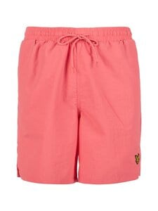 Lyle & Scott - Plain Swim Short-uimashortsit - W429 PUNCH PINK | Stockmann