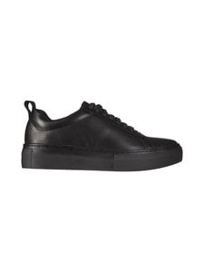 Vagabond - Zoe Platform -nahkasneakerit - 92 BLACK/BLACK | Stockmann