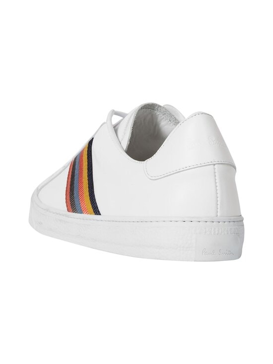 Paul Smith - Hansen-nahkatennarit - 01 WHITE ARTIST STRIPE | Stockmann - photo 2