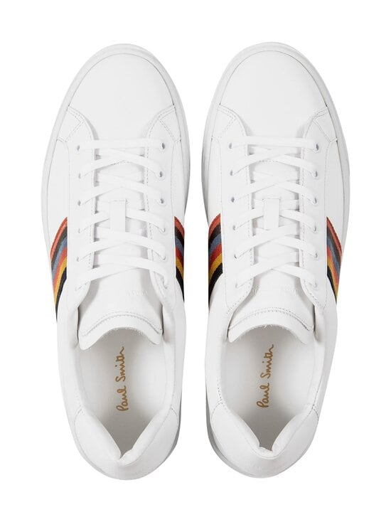 Paul Smith - Hansen-nahkatennarit - 01 WHITE ARTIST STRIPE | Stockmann - photo 3