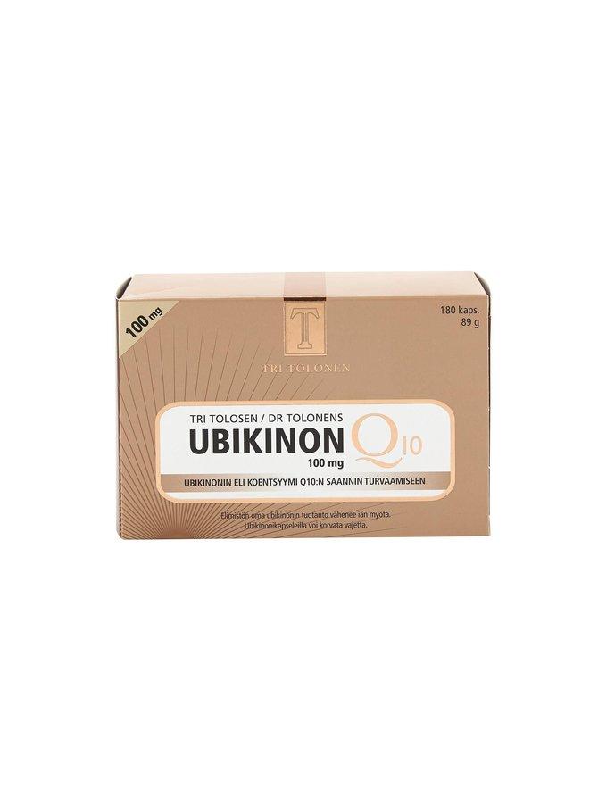 Ubikinon-ravintolisä 180 kpl./100 mg