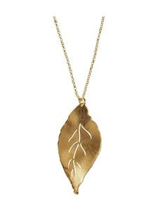 Dfj Collections - Leaf Pendant -kaulakoru - GOLD | Stockmann