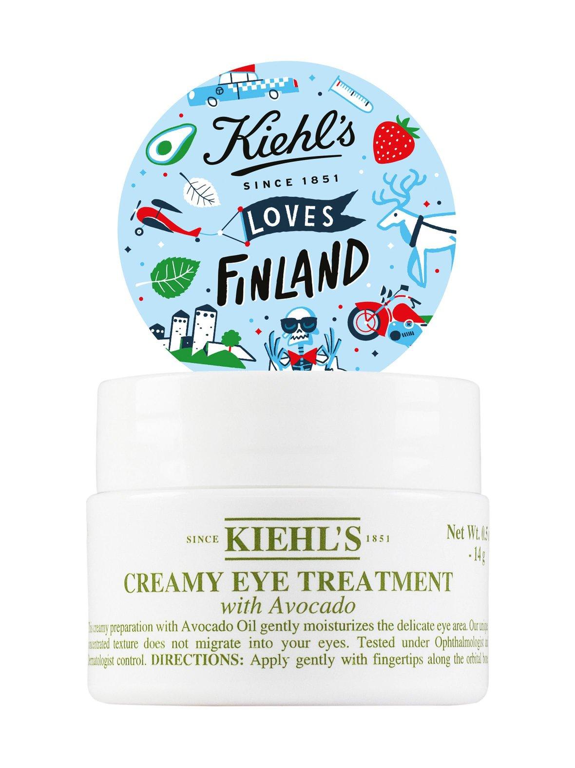 Kiehl's – Avocado Creamy Eye Treatment -silmänympärysvoide 15 ml