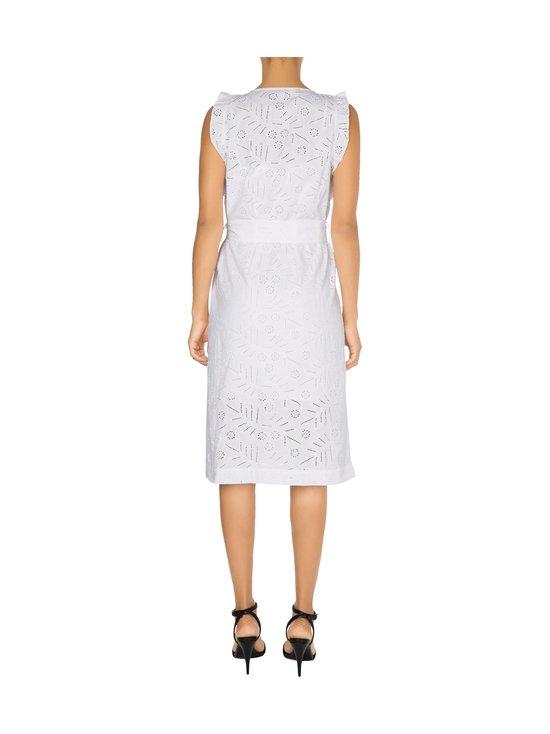 Tommy Hilfiger - Broderie Anglaise Sleeveless Dress -mekko - YCF TH OPTIC WHITE | Stockmann - photo 2