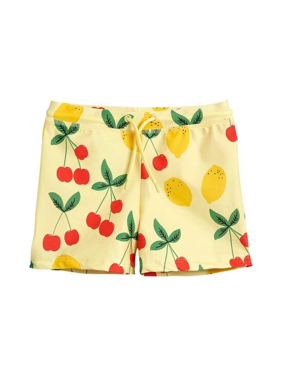 Mini Rodini - Cherry Lemonade Swim Pants -uimahousut - YELLOW   Stockmann - photo 1