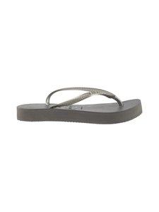 Havaianas - Slim Flatform Flip Flops -varvassandaalit - 5178 STEEL GREY | Stockmann