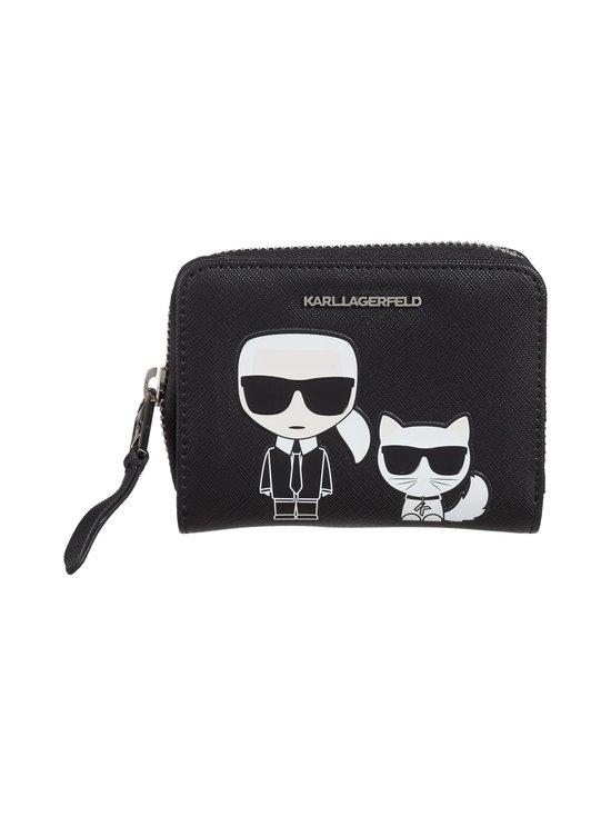 Karl Lagerfeld - K/Ikonik Small Zip -lompakko - BLACK A999   Stockmann - photo 1