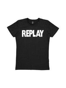 Replay & Sons - T-paita - 098 BLACK | Stockmann