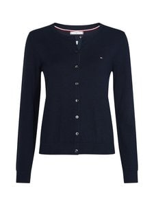 Tommy Hilfiger - Heritage Button-Up -neuletakki - 403 MIDNIGHT | Stockmann