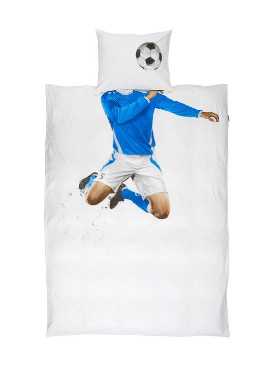 Soccer-pussilakanasetti 150 x 210 + 50 x 60 cm