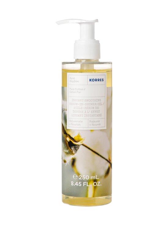 Korres - Pure Cotton Serum-In-Shower Oil -vartaloöljyseerumi 250 ml - NOCOL   Stockmann - photo 1