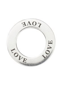 Dfj Collections - Amulet Love -riipus - SILVER | Stockmann
