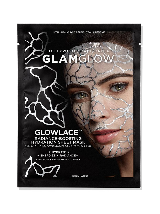 Glowlace™ Radiance-Boosting Hydration Sheet Mask -naamio