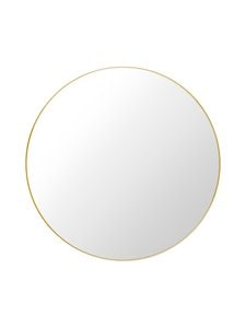 Gubi - Wall Mirror -peili ⌀ 110 cm - POLISHED BRASS | Stockmann