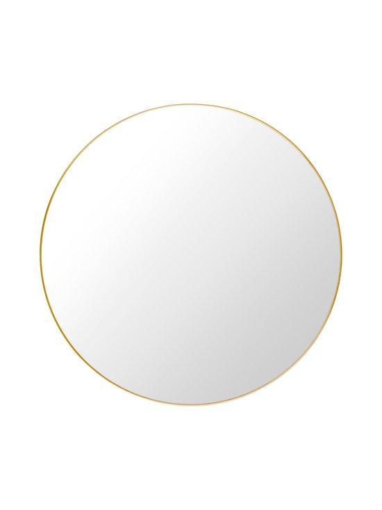 Gubi - Wall Mirror -peili ⌀ 110 cm - POLISHED BRASS | Stockmann - photo 1