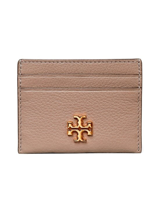 Tory Burch - Kira Pebbled Card Case -korttikotelo - 082 GRAY HERON | Stockmann - photo 1