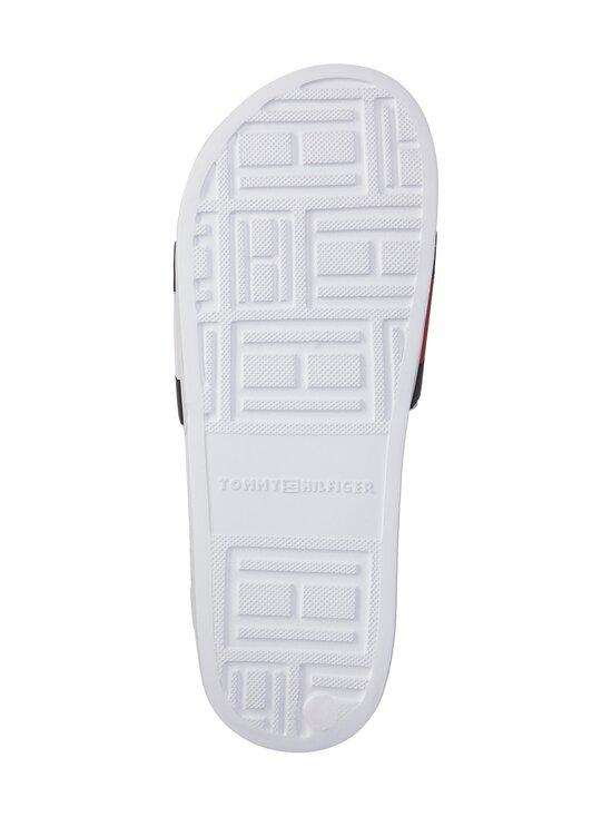 Tommy Hilfiger - Essential Flag Pool Slide -sandaalit - YBR WHITE   Stockmann - photo 3
