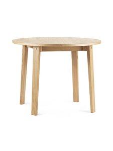 Normann Copenhagen - Slice Table Vol. 2 -pöytä ⌀ 95 cm - OAK/OAK | Stockmann