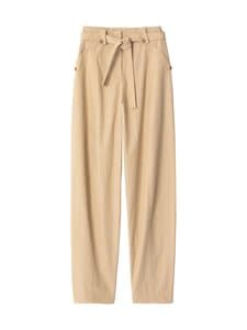 Kenzo - Tapered Belted -housut - 11 BEIGE | Stockmann