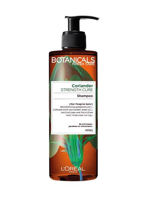 Ginger & Coriander Strengthening -shampoo hennoille hiuksille 400 ml