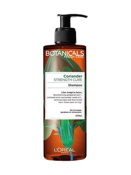 BOTANICALS - Ginger & Coriander Strengthening -shampoo hennoille hiuksille 400 ml - null | Stockmann - photo 1