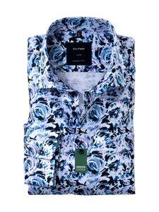 Olymp - floral print GREEN Global Kent -kauluspaita - 94 LILAC/ BLUE | Stockmann