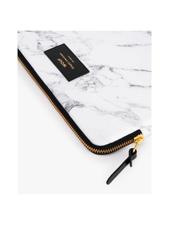 WOUF - White Marble iPad Sleeve -suojatasku tabletille - WHITE | Stockmann - photo 2