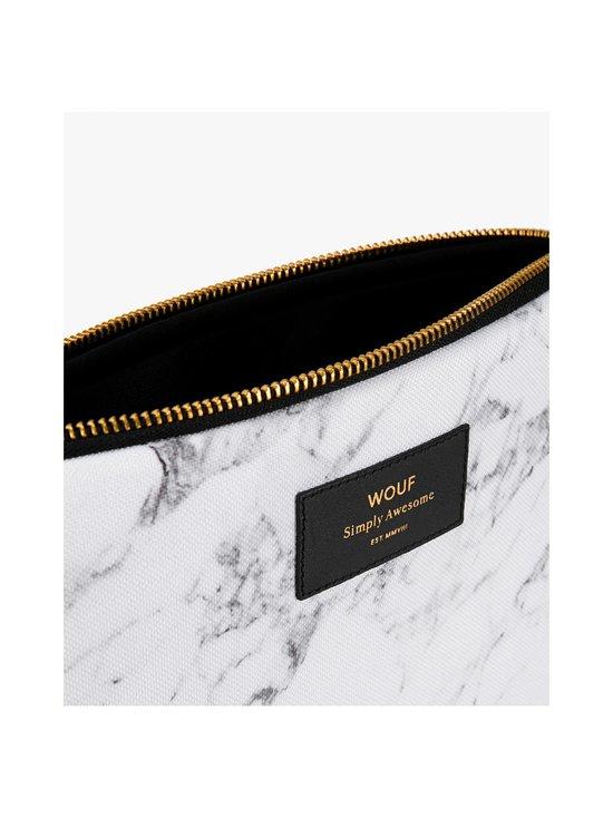 WOUF - White Marble iPad Sleeve -suojatasku tabletille - WHITE | Stockmann - photo 3