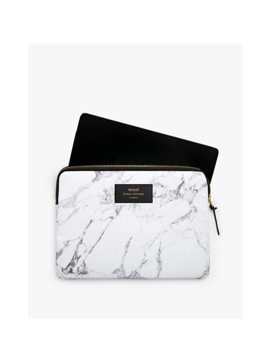WOUF - White Marble iPad Sleeve -suojatasku tabletille - WHITE | Stockmann - photo 4