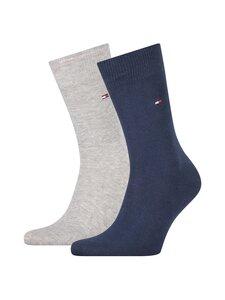 Tommy Hilfiger - TH Men Sock Classic -sukat 2-pack - LIGHT GREY MELANGE 100   Stockmann