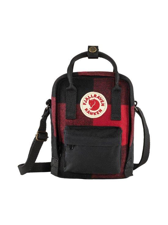 Fjällräven - Kånken Re-Wool Sling -laukku - 320-550 RED-BLACK | Stockmann - photo 1
