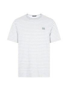 J.Lindeberg - Charles Stripe T-shirt -paita - U081 MID GREY | Stockmann