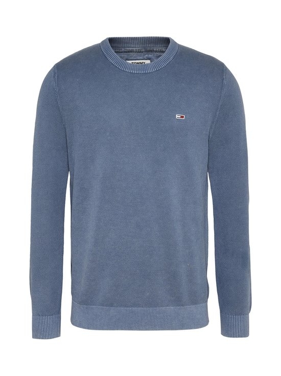 Tommy Jeans - Tjm Lightweight -puuvillaneule - C0Z FADED INK | Stockmann - photo 1
