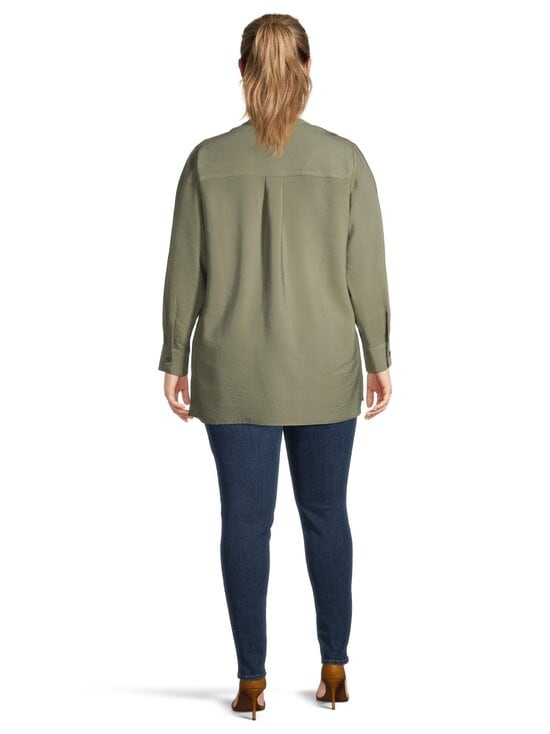 cut & pret PLUS - Fanny Plus -pusero - KHAKI GREEN | Stockmann - photo 3
