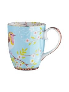 PIP Studio - Floral Early Bird -muki 0,35 l - BLUE | Stockmann