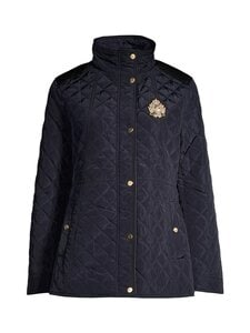 Lauren Ralph Lauren - Satin Finish Military Quilt -takki - NAVY 2WB9 | Stockmann